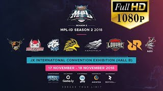 🔴[LIVE MPL- FULL HD 1080P] GRAND FINAL MPL INDONESIA AEROWOLF ROXY VS LOUVRE |MPL-ID S2 HARI 1-MLBB