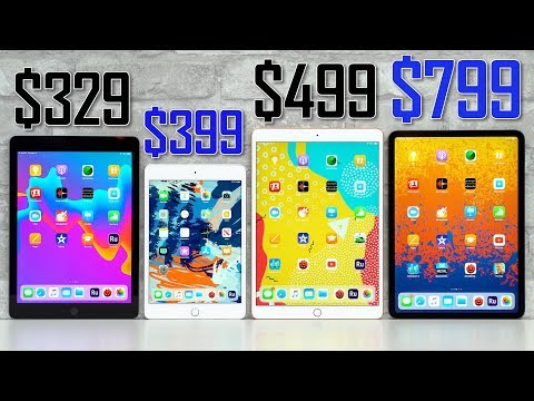 Which iPad should you buy in 2019?