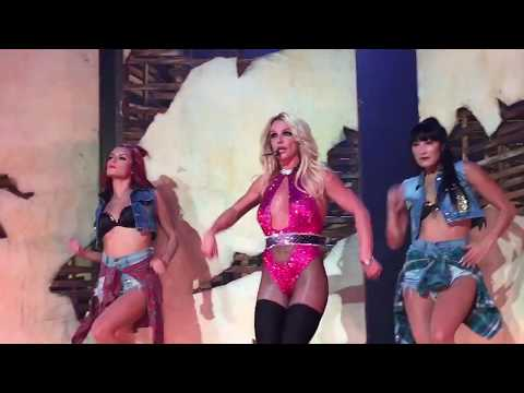 Britney Spears HD Me Against The Music at Piece Of Me September 1st 2017 in Las Vegas