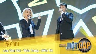 Trời Sinh Một Cặp mùa 2 Tập 11 | Lâm Vinh Hải - Thảo Trang - Niềm tin | VTV3
