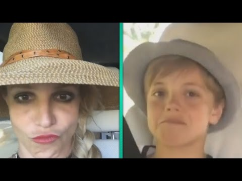 Watch Britney Spears Totally Embarrass Her Sons in Hilarious Lip Sync Video