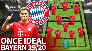 El once ideal del Bayern en la 2019-2020: tras fichar a Coutinho, aspiran al triplete | Diario AS