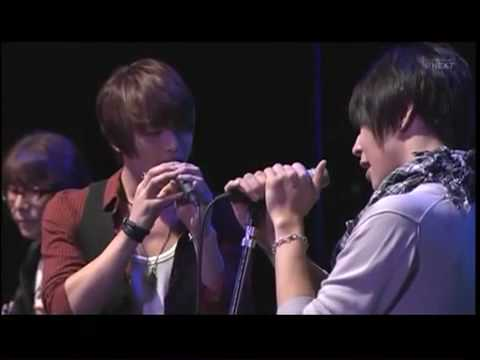 [ 090926 ] Jaejoong & Yoochun singing Rainy Blue + Talk