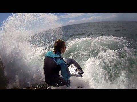 Штормовая рыбалка на океане