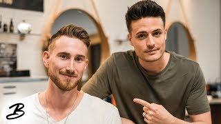 Getting A Haircut With Gordon Hayward | 'Best Hair In The NBA'