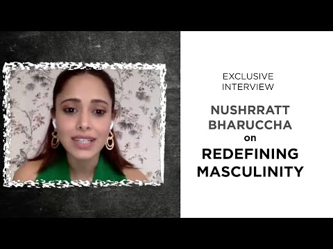 #NushrrattBharuccha on #Chhalaang, redefining masculinity, and working with #HansalMehta