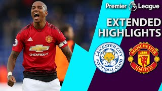 Leicester City v. Manchester United | PREMIER LEAGUE EXTENDED HIGHLIGHTS | 2/3/19 | NBC Sports