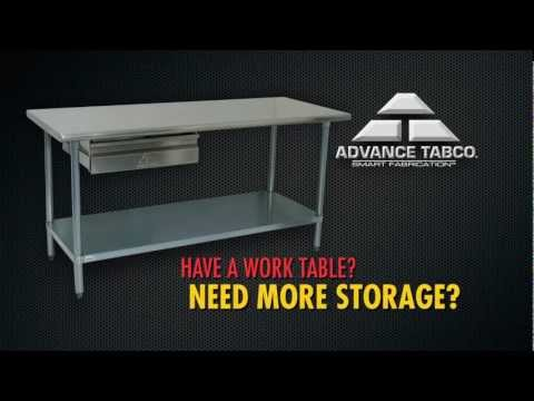 How To Install SHD Drawers by Advance Tabco