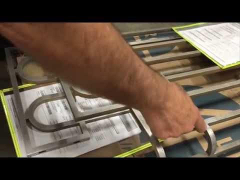Steel Fabrication With Minimal Welds