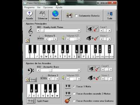 cumpleaños  feliz piano electronico 2.5