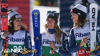 Shiffrin denied by Italian sweep in Bansko | NBC Sports