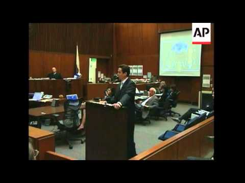 Raw video of the prosecution's closing argument in the Phil Spector murder trial. (March 26)