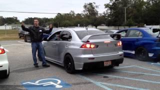 EvoXForums Exhaust Competition