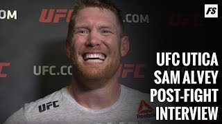 UFC Utica: Sam Alvey apologizes for calling out Corey Anderson during family tragedy - FanSided MMA
