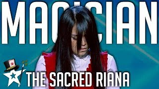 The Sacred Riana | All Performances | Asia's Got Talent | Magician's Got Talent