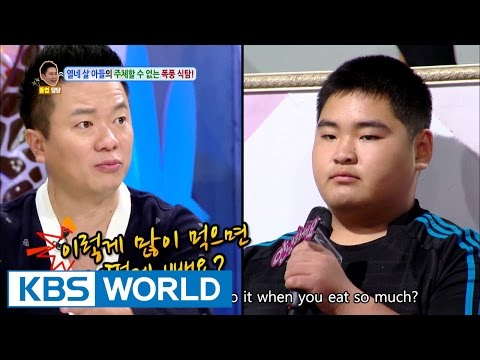 14 year old scary overeating habits [Hello Counselor / 2016.10.24]
