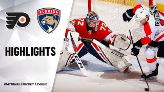 NHL Highlights | Flyers @ Panthers 2/13/20