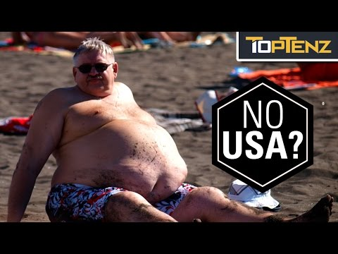 Top 10 FATTEST COUNTRIES in the World