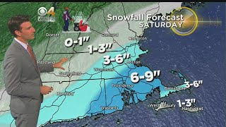 WBZ Evening Forecast For March 1
