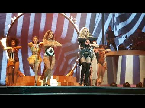Piece Of Me 18 AUG 2017 - Britney Spears performs Circus
