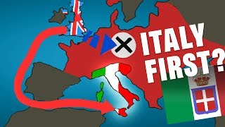 Italy First instead of Germany First?