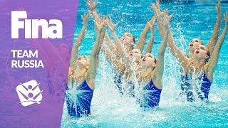 Team Russia - The golden team in Synchronised Swimming