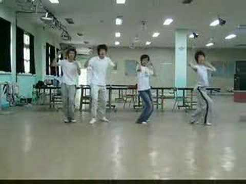 CSJH one more time ok ? 4guys dance