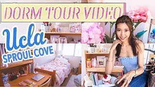 UCLA DORM ROOM TOUR: sproul cove deluxe double