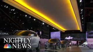 Automakers Ditch Sedans At Detroit Auto-Show | NBC Nightly News