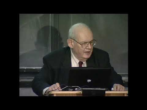 Benoit B. Mandelbrot, MIT 2001 - Fractals in Science, Engineering and Finance (Roughness and Beauty)