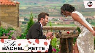 Bryan Proposes to Rachel - The Bachelorette