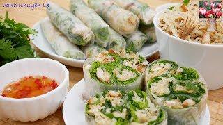 Bì cuốn - Món ăn ngon có trong các Đám tiệc ở miền Quê Việt Nam by Vanh Khuyen