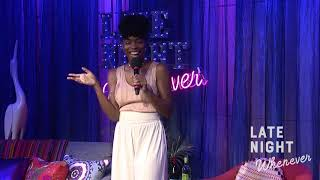 Sasheer Zamata Guest Hosts Late Night Whenever