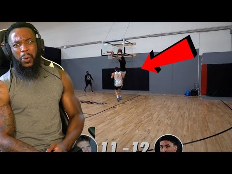 He DUNKS ON HIM! Jesser vs Kenyon Martin Jr. Basketball Challenge