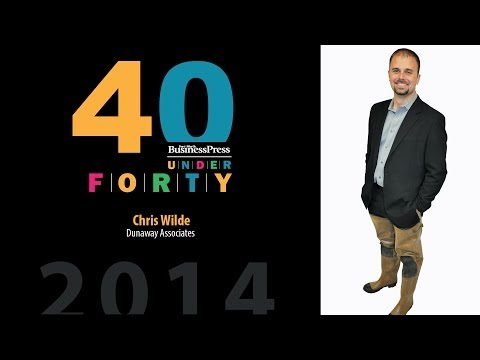 2014 Fort Worth Business Press 40 Under 40 - Chris Wilde