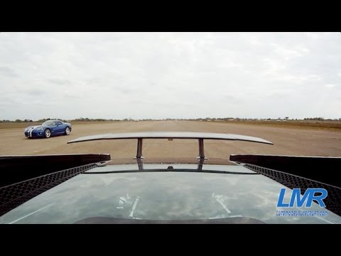 Twin Turbo Lamborghini Gallardo vs Vipers