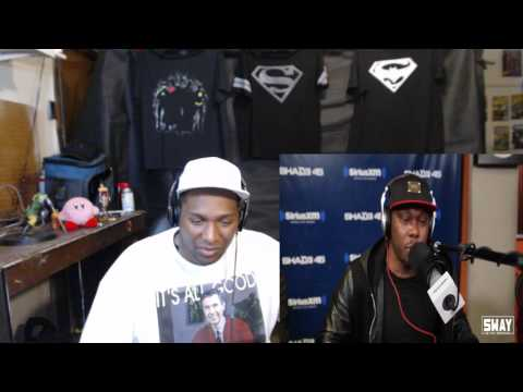 Dizzee Rascal Absolutely Smashes the 5 Fingers of Death on Sway in the Morning Reaction