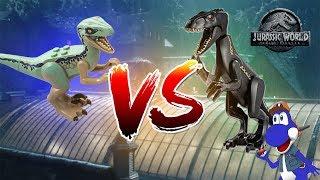 BLUE VS. THE INDORAPTOR - LEGO Jurassic World