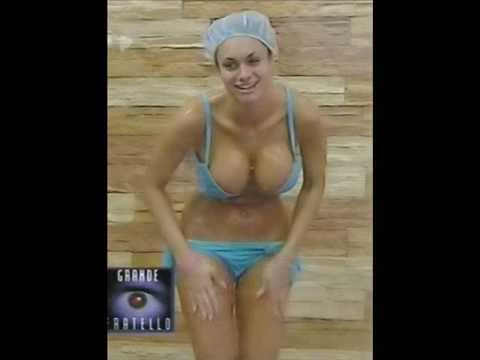 Italian big brother grande fratello mascia ferri boobs out sorry no audio 7