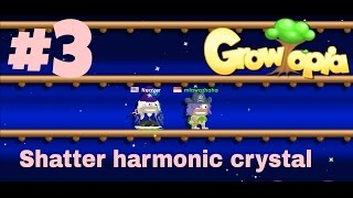 Cara shatter harmonic crystal, making a blue crystal wing , GROWTOPIA INDONESIA  #3