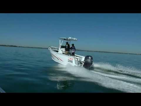 550 Vision walk through - Sea Jay Boats