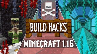 NEW Minecraft 1.16 Nether Update Build Tips & Ideas!