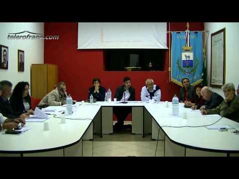 Consiglio Comunale 13 settembre 2012
