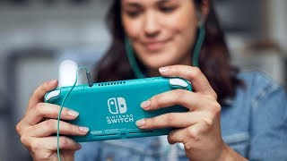 first look at nintendo switch lite new addition to the nintendo switch family