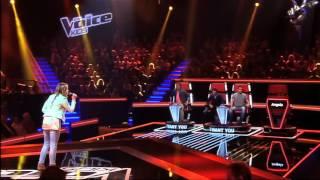 Cô Bé Hát Hay Quá Giám Khảo Phấn Khích Cười Khà Khà - The Voice Kids Hà Lan