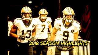 New Orleans Saints 2018 Season Highlights ᵂᴰ⁴ᴸ