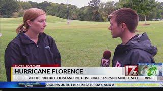 Duke Energy official provides update on Hurricane Florence