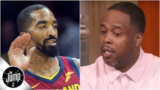 Why did JR Smith throw soup at Damon Jones? 'It was a difference in opinion' | The Jump