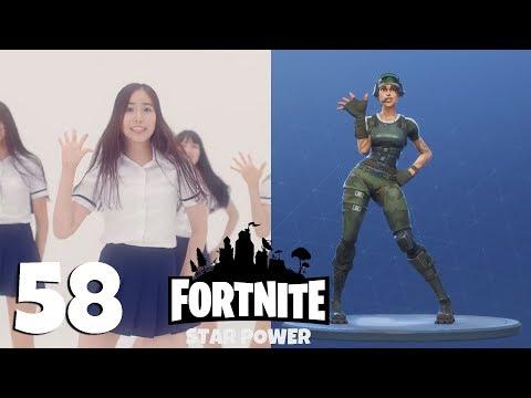 Fortnite: ALL 58 emotes and dances + Their real life original references [No bonuses]