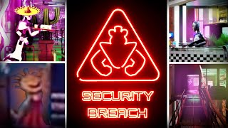 NEW FNAF Security Breach Trailer Analysis & Reaction (Five Nights at Freddy's News)